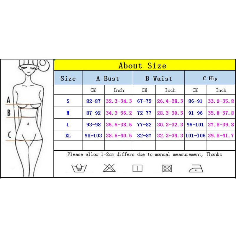 2020 Sexy Women High Waist Bikini Swimsuit Swimwear Female Bandeau Thong Brazilian Biquini Bikini Set Bathing Suit Bather 6