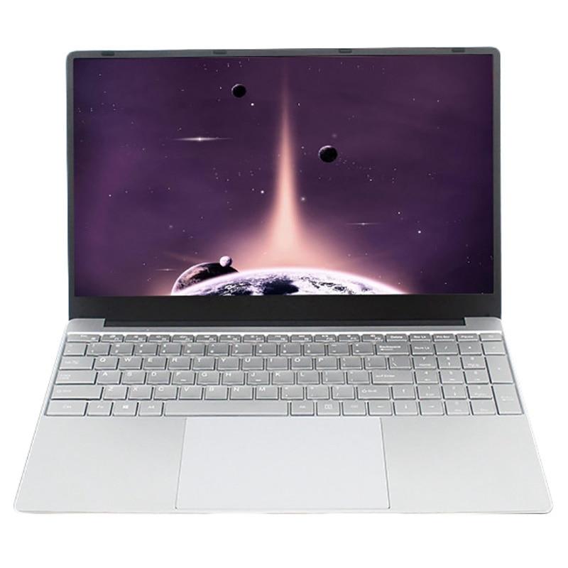 15,6 дюймовый ноутбук 8 Гб ОЗУ 512 ГБ SSD Intel Celeron J3455 1080P FHD дисплей Windows 10 полная раскладка клавиатуры