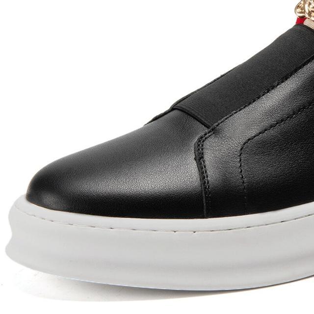 Zapatos informales de lujo para hombre, mocasines de marca de lujo de alta calidad, color negro, Accesorios de belleza, P26, novedad 5