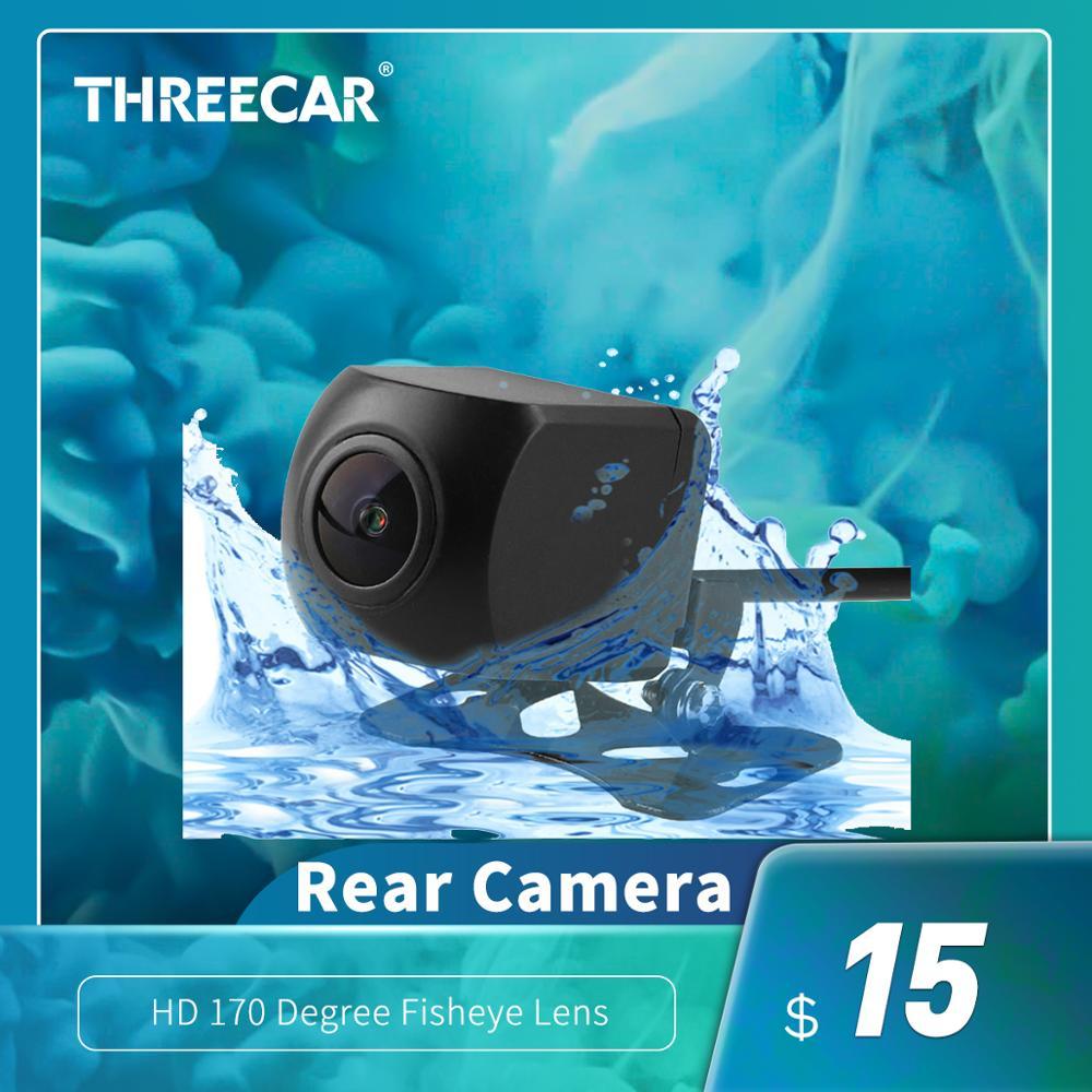 Wodoodporny HD 170 stopni obiektyw typu rybie oko Starlight Night Vision samochód wsteczna kopia zapasowa kamera tylna Mini kamera cofania MCCD
