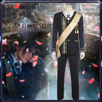 Game Final Fantasy XV Cosplay Costume Noctis Lucis Caelum Cosplay Costume Prince Costume Halloween Carnival Party Customized