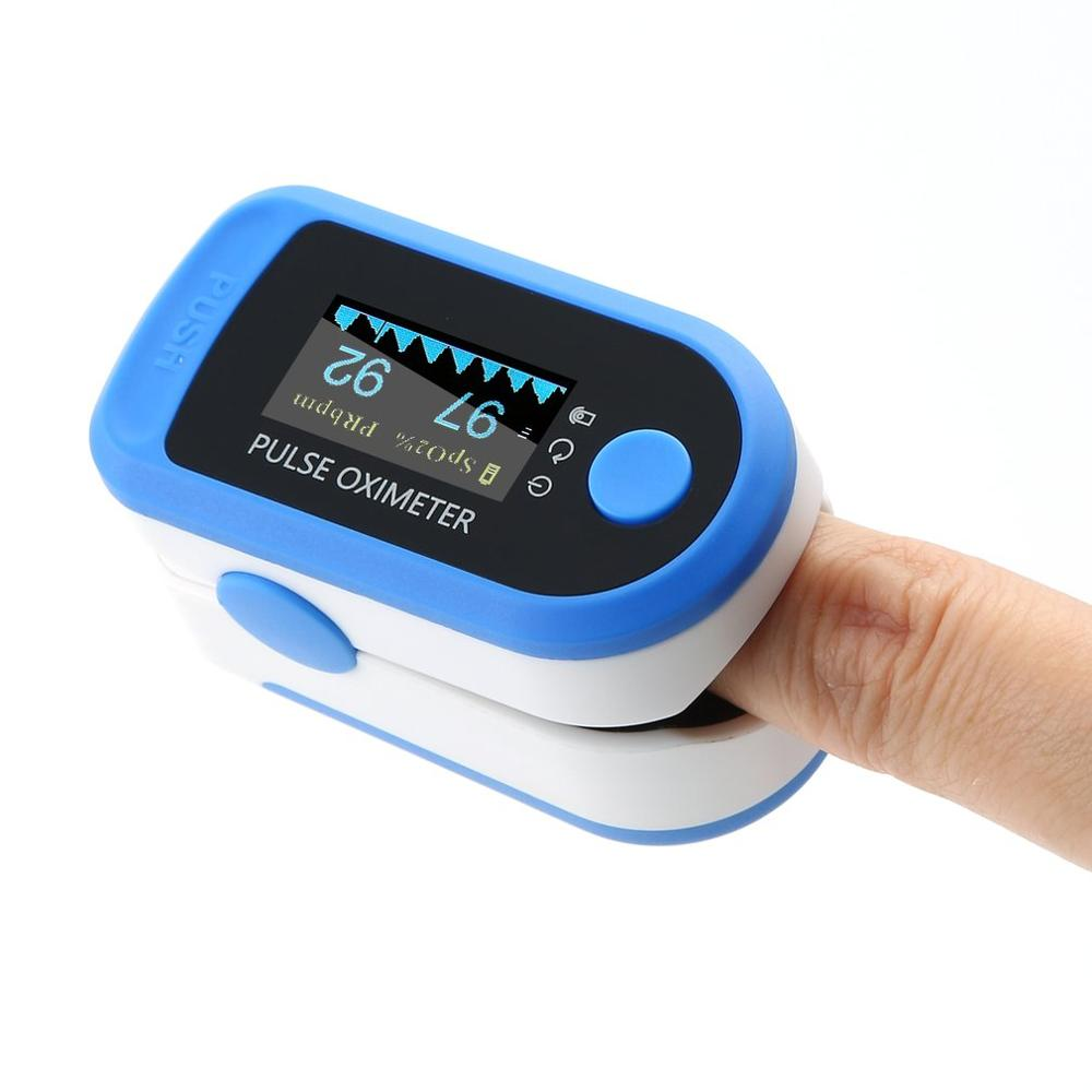 Fingertip Oximeter Pulse Oximeter Digital Blood Oxygen Saturation Monitor For Heart Rate Monitor Portable Pulse Oximeter