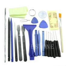 купить 23 in 1 Opening Pry Tool Kit Repair Metal Spudger Screwdriver Set For Pad Tablet дешево