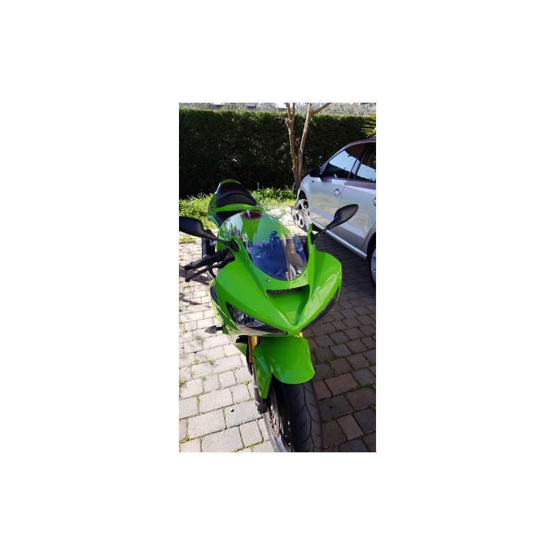 Protector de Pantalla Windshield Windscreen para Kawasaki ZX6R ZX636 2005-2008