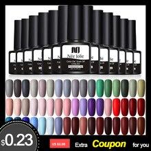 NEE JOLIE 8 мл УФ-гель для ногтей светодиодный лак для ногтей красно-серый гель лак долговечный гель замачиваемый дизайн ногтей DIY