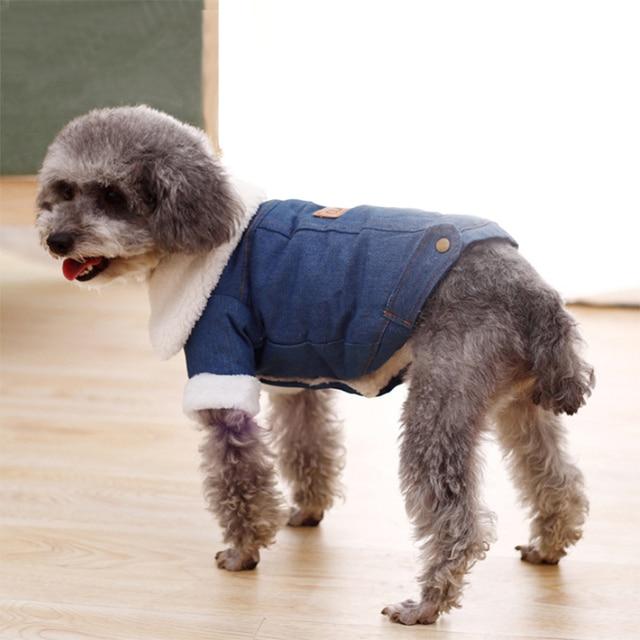 Fashion Fleece Lined Denim Jacket 10