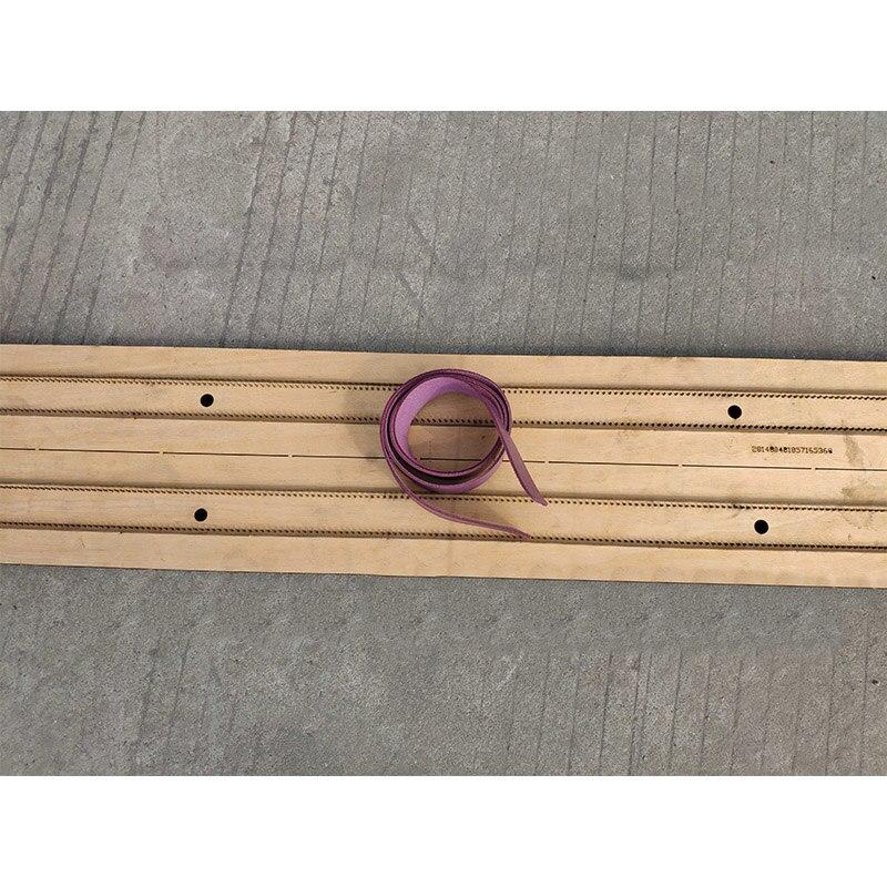 اليابان شفرة فولاذية حكم يموت قطع خرامة من الصلب حزام قطع قالب الخشب يموت للجلود القاطع للجلود الحرف 1.2m-في الثقب من المنزل والحديقة على  مجموعة 1