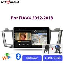цена на Vtopek 2G+32G 2din Android 9.0 Car Radio Multimidia Video Player Navigation GPS For Toyota RAV4 RAV 4 2012-2018 Head Unit 2 Din