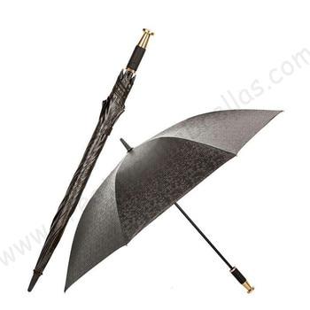 123cm dia. self-defense steel golden car umbrella diamond check auto open anti-thunder anti-static fiberglass windproof parasol