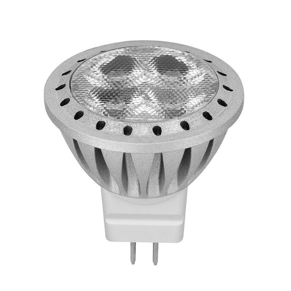 12V Type Q MR11 2600-2800K LED Spotlight With GU4 Base For Indoor Downlight Lighting