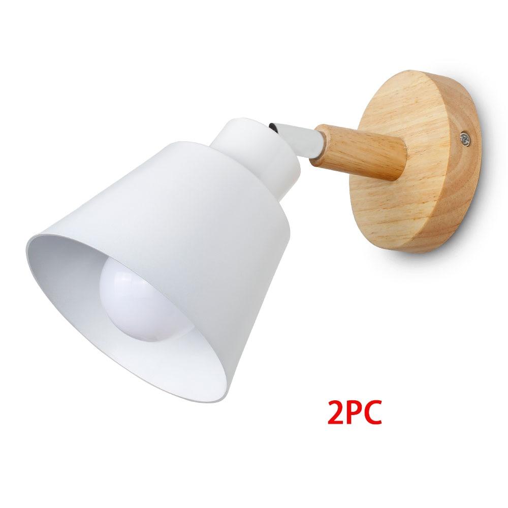 White 2pc No Bulb