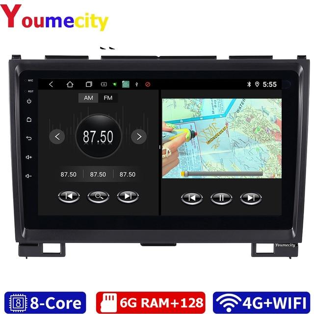 Samochodowy odtwarzacz multimedialny GPS dla Haval Hover Greatwall Great Wall H5 H3 IPS RDS Wifi BT z systemem Android 10.0 Dvd Navitel Yandex
