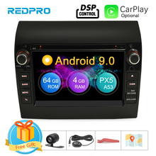 "8 Core 7"" IPS Android 9.0 Car Stereo For Fiat Ducato CITROEN Jumper PEUGEOT Boxer DVD Player GPS Navigation Wifi FM Multimedia"