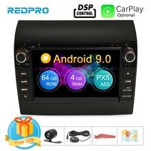 """8 Core 7 """"IPS Android 9.0 Dàn Âm Thanh Xe Hơi Cho Fiat Ducato Đồng Hồ Dây Nhảy Xe Đạp Peugeot Boxer Đầu DVD GPS điều Hướng Wifi FM Đa Phương Tiện"""