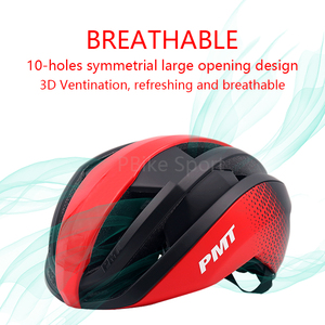 Image 5 - PMT New Bicycle Helmet Integrally molded Cycling Helmet Breathable Road Mountain MTB Bike Helmet