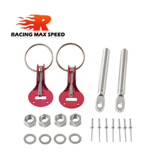free shipping Fit ALL Racing Speed aluminum Alloy Silver Bonnet Hood Pin Lock Kit Down Hood Lock Pins For Honda civic 1992 wlring store free shipping racing light weight aluminum crankshaft pulley oem size 92 95 for civic sohc d16 wlr cp009