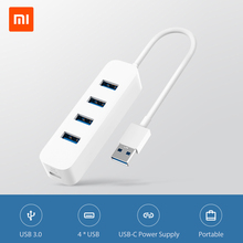 4-Usb Splitter Xiaomi Computer-Accessories Multi for PC All-In-One Hub Tf-Card-Reader
