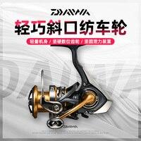 Original Daiwa Exceler LT 2000 S-XH flat spool 6.2: 1 spinning fishing reel with long shot  super light