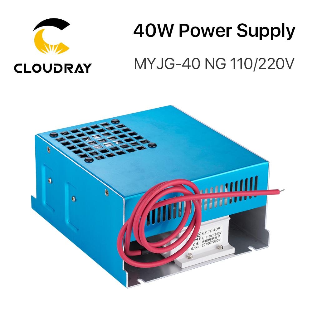 Fuente de alimentación de láser de CO2 Cloudray 40W MYJG-40T 110V - Piezas para maquinas de carpinteria - foto 2