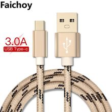 USB Type C Cable for Xiaomi Redmi Note 7 Mi 9 Fast Charging Data Sync USB C Cable for Samsung Galaxy S9 Oneplus 6t Phone Type-C(China)