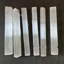 10 шт 9 см природного гипса руды сырье семь чакр из Белого Гипса