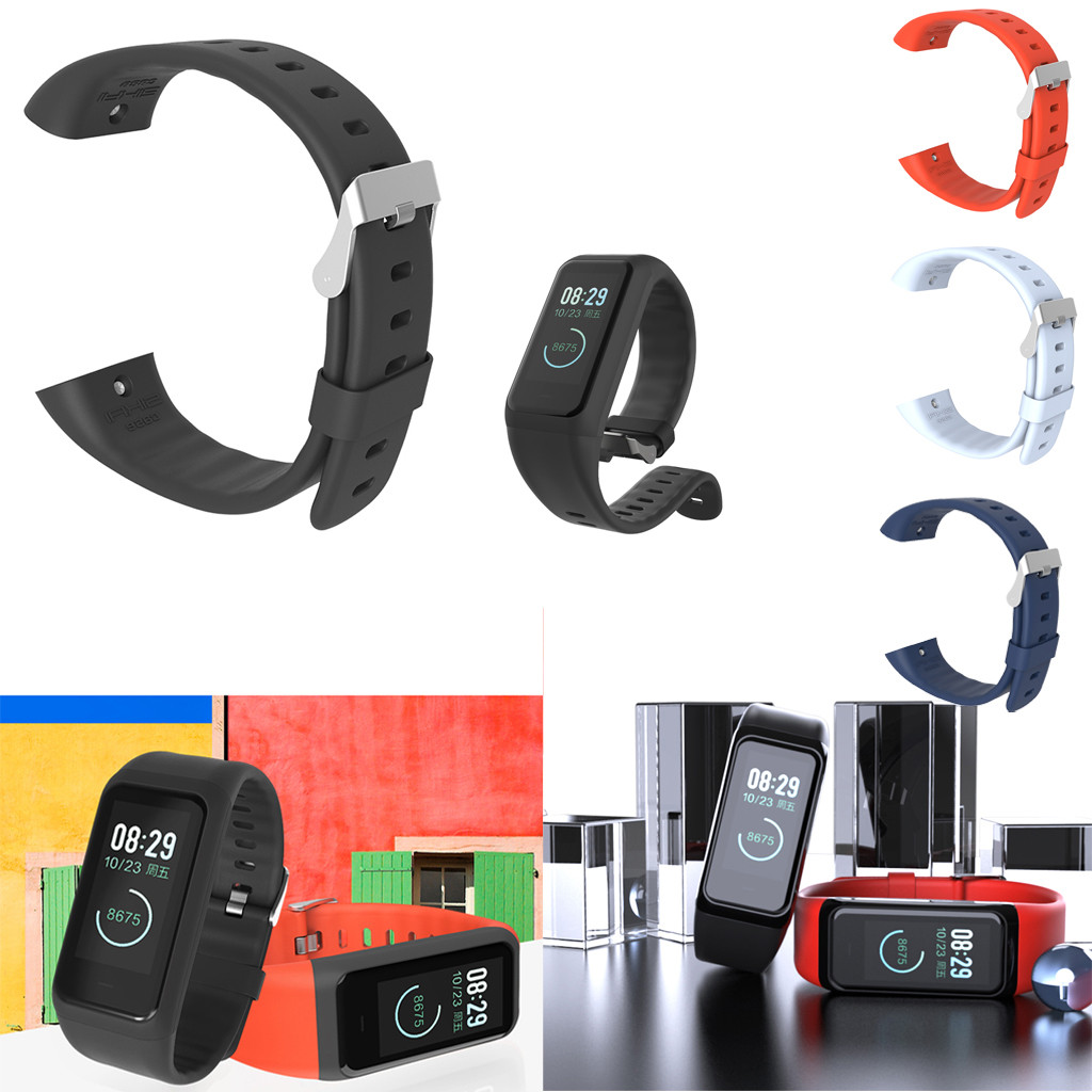 Smart Bracelet For Xiaomi <font><b>Huami</b></font> <font><b>Amazfit</b></font> <font><b>Cor</b></font> <font><b>2</b></font> Smart Bracelet Wrist Strap Replacement Band Fitness Tracker #40 image