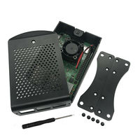 Raspberry Pi 3 B+(B Plus) Starter Kit Quad Core 1.4Ghz 64 Bit Processor+Aluminum Alloy Case