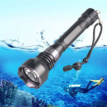 TMWT 3800Lm CREE XM-L2 Waterproof Diving Lights Torch Yellow UV Red Lamp Underwa