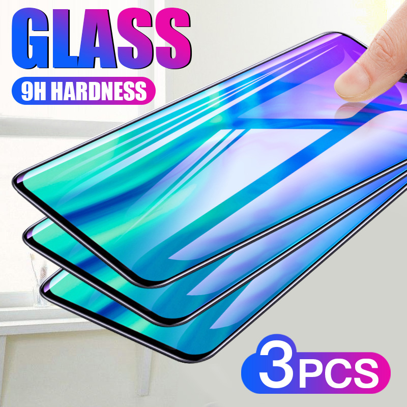 3pcs Tempered Glass For Huawei Honor 10 Lite 20 Pro V10 V20 Screen Protector On The For Honor 9 9X 10i 20i 20S Protective Glass