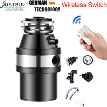 Full Parts,Air Switch,food garbage disposal, food waste disposers Stainless steel Grinder crusher kitchen appliances new kitchen food garbage processor disposal crusher food waste disposer stainless steel grinder material kitchen sink appliance