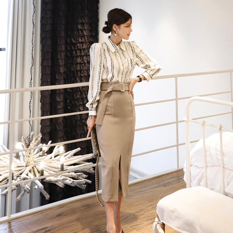 Elegant Spring Office Lady 2 Piece Set Women Bodycon Slim Women Fashion Vestido Suits