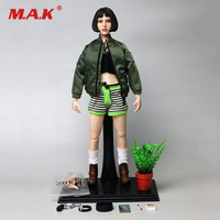 In Stock 1/6 Scale KUMIK KMF036 Natalie Portman Leon Mathilda Girl Female Action Figure Movie Dolls Collectibles Collection Toys