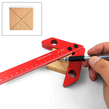 Center-Marker Woodworking-Aids Square Scribe Right-Angle 90-Degree YX-1 Circle