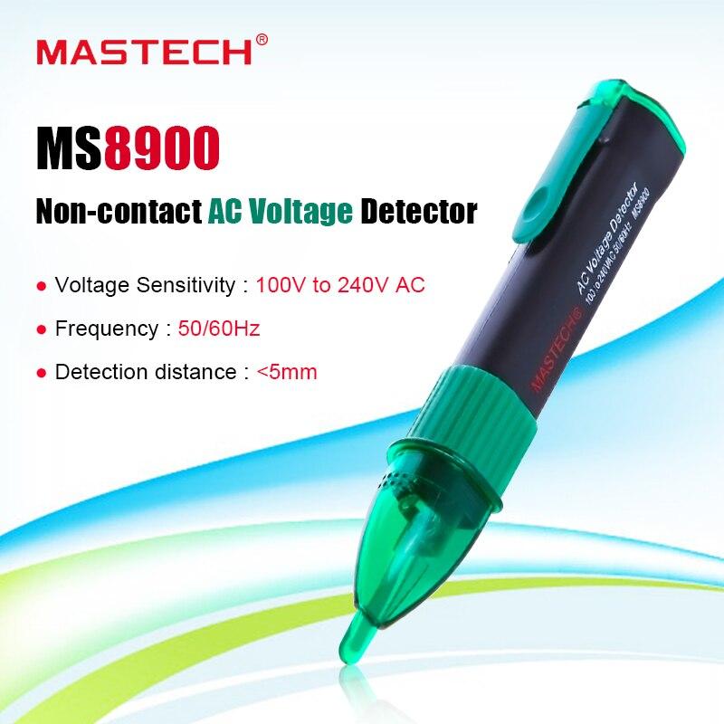 MASTECH MS8900 Non-contact AC Voltage Detector Sensor Tester Pen