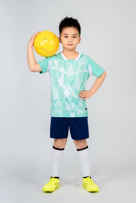 Kids football Uniforms boys girl soccer Jerseys Custom child Soccer Jersey Set Sportswear t-shirt sports suit new style 19