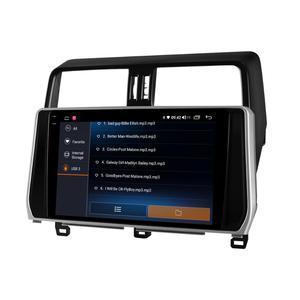 Image 3 - Android 10 Car Radio Stereo Head Unit Multimedia Carplay For Toyota Land Cruiser Prado 150 2018 2019 Support Canbus OEM Camera