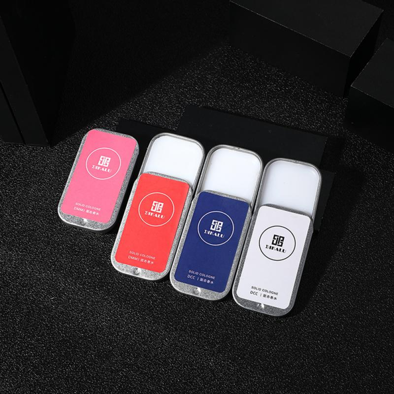 Men And Women Perfume Plant Solid Girl Perfumes Fruity Balm Box Easy To Carry Body Fragrance Alcohol-free Deodorant Scente TSLM1