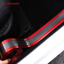 Pour Volkswagen VW Golf 4 2020 2019 2021 fibre de carbone seuil de porte seuil plaque gardes seuils de porte protecteur voiture accessoires