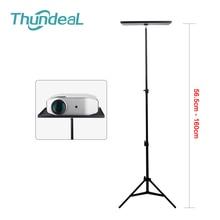 Thundeal 110cm 160cm z regulacją wysokości uniwersalny przenośny projektor statyw, dla Xiaomi Smartphone Camera Laptop YG620 projektor