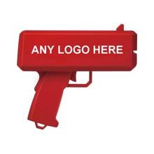 Cash gun Super Make It Rain Money Gun Red Gift Toys
