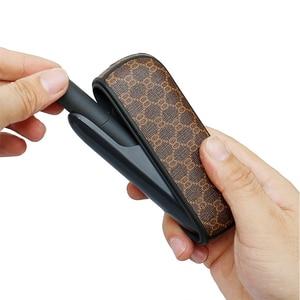Image 2 - 보호 E 담배 휴대용 홀더 iqos 3 3.0 럭셔리 비즈니스 가죽 커버 사랑 좋은 handfeeling