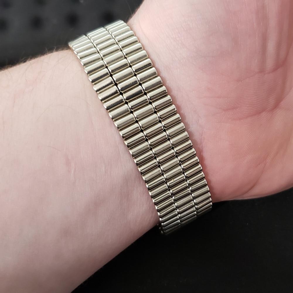 Купить с кэшбэком Diametrically Magnet Rod for Bracelet 3D Printed Settlers Board Game NdFeB 3x6 mm 4  3500GS Silver Metal 3*6mm