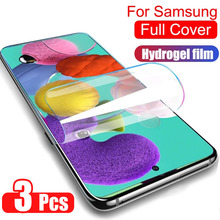 Hydrogel-Film Screen-Protector No-Glass A30s A21s M31s A71 Samsung Galaxy 3pcs for A51/A50/A40/..