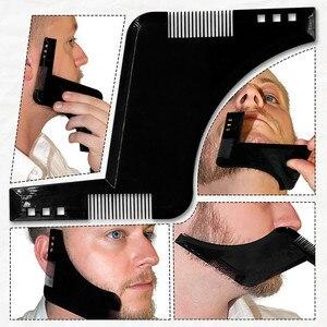 Image 5 - 120*78 センチメートルひげと口ひげで剃るためシェービングエプロン岬よだれかけ吸引カップに添付ミラー理髪除去ツール