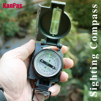 2021New military compass  sighting lensatic compass/ Inclinometer compasses professionals for hiking, camping, outdoor 1