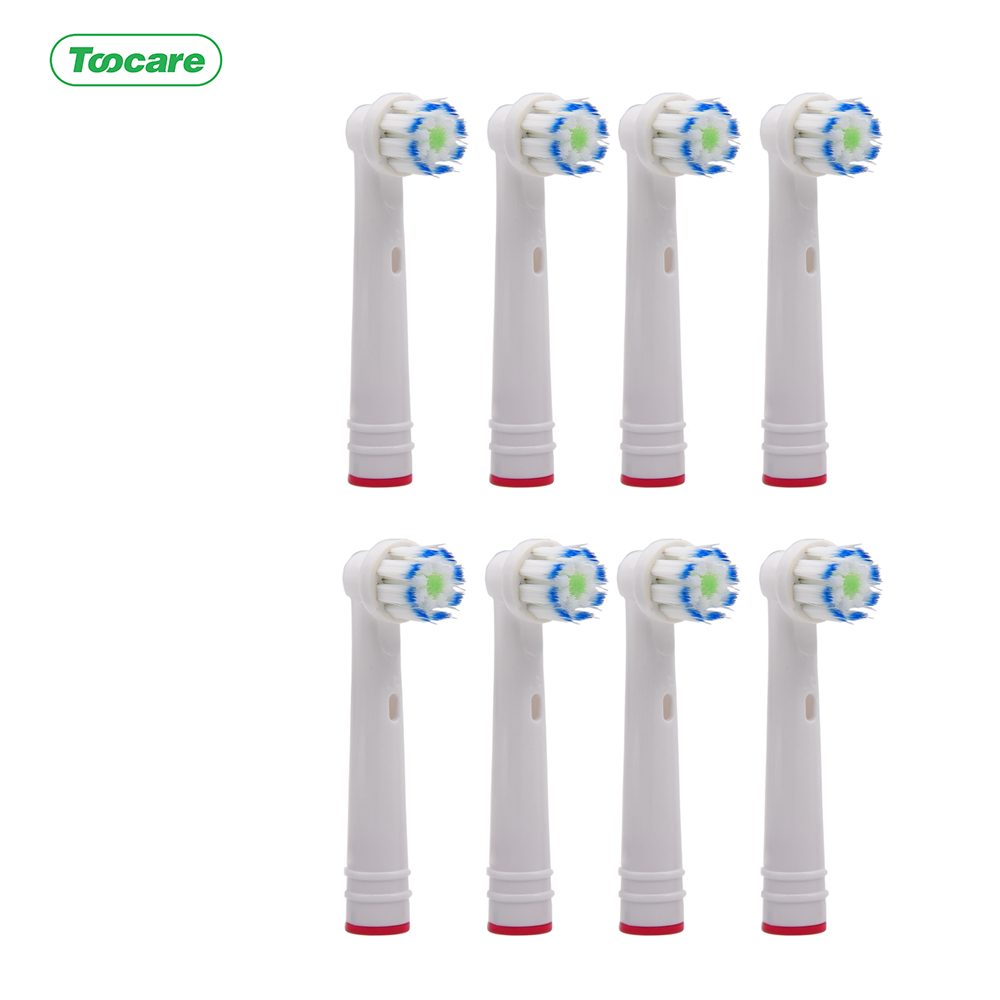 For Braun Oral-B EB60 Sensi Ultra Thin 0.01mm Soft Bristle Head Deep Clean Gum Care Replacement Brush Heads toothbrus heads image