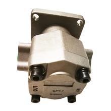 цена на GPY Series Hydraulic Gear Pump GPY-3 GPY-5.8 GPY-7 GPY-8 Gear Pump High Pressure:20.6Mpa Small Aluminum Oil Pump,Rotation:CW
