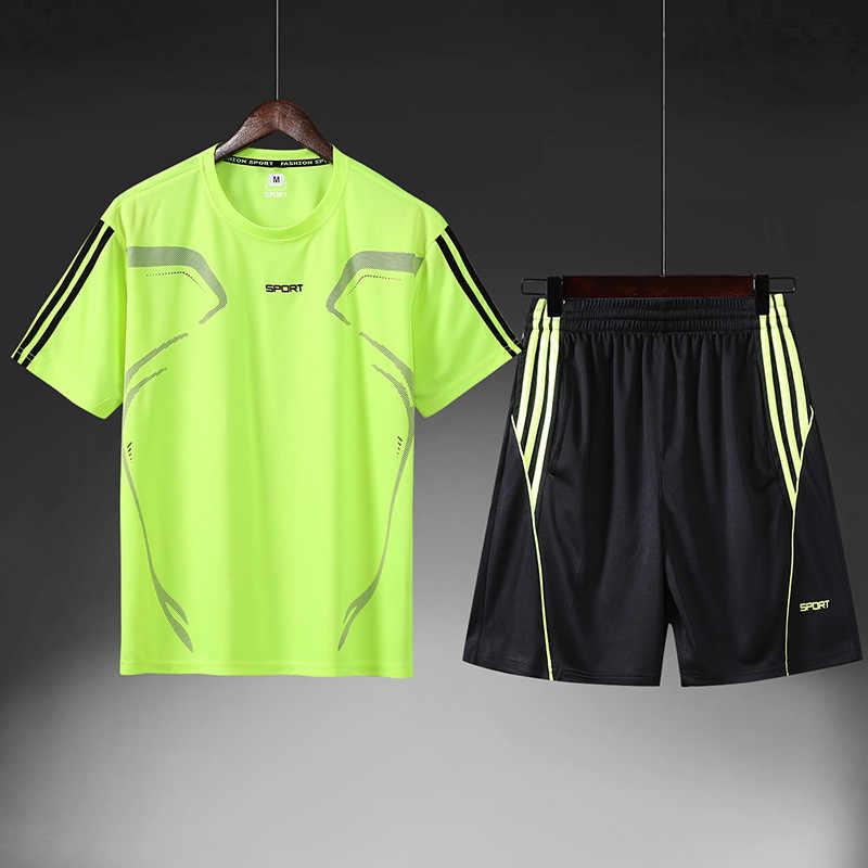 Conjunto De hombre, Ropa De verano Hombr, chándal Sui a la moda para hombre, conjunto De pantalones para correr, trajes para corredores para hombre 2020