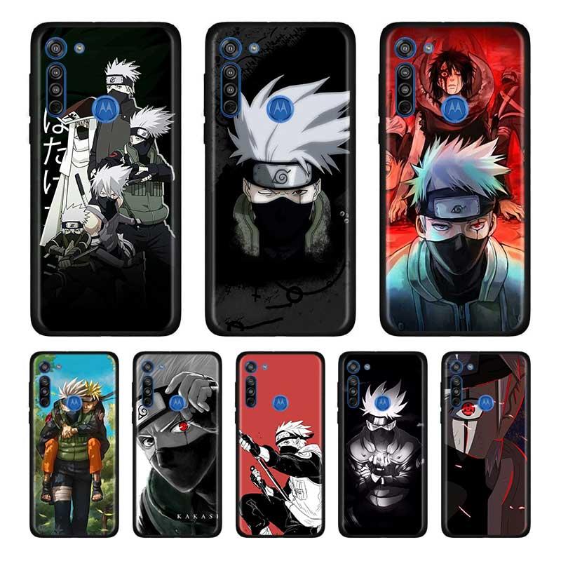 Anime Naruto Hatake Kakashi Soft Case For Motorola Edge Plus Moto G Stylus G8 G Power G8 Plus Play One Hyper E6s Case Shell