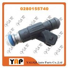 Injetor de combustível (4) para fitdodge neon 2.0l l4 0280155740 4669471 1996 1997
